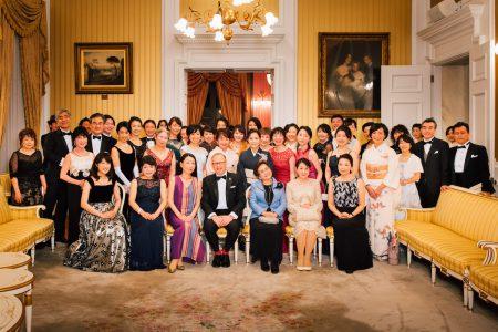 綱町三井倶楽部のディナーパーティー PHOTOレポートです