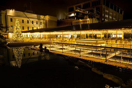 [終了]日本橋三越本店屋上でクリスマス気分を体験。「日本橋庭園ガーデンクリスマス」